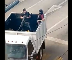 Balaceras en Culiacán.