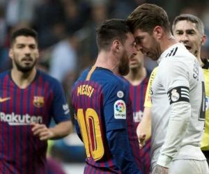 Lionel Messi y Sergio Ramos.