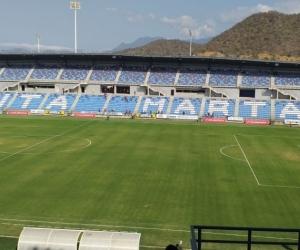 Estadio Sierra Nevada.