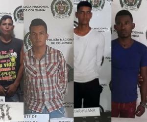 Nueve personas fueron capturadas y en el operativo se incautó gran cantidad de estupefaciente