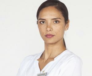 La actriz Viña Machado.