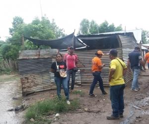 El desbordamiento de los arroyos La Victoria, El Cascajo y la quebrada Chimicuica, fueron los causantes de las afectaciones.