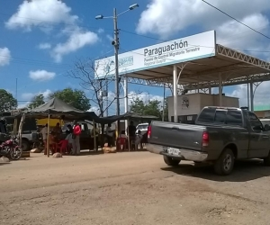 Paraguachón, una de las fronteras con Colombia.
