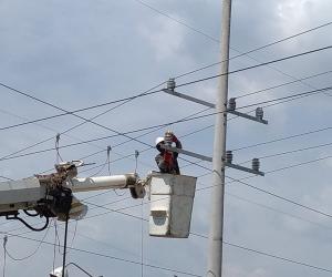 Electricaribe realizará el mantenimiento casi todo el viernes.