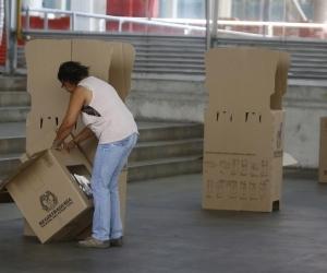 Imagen para ilustrar la nota. El puesto de votación fue trasladado a la cabecera municipal de La Macarena, Meta.