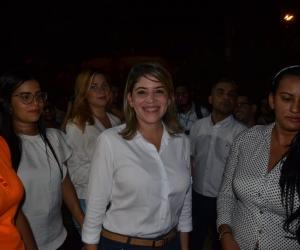 Virna Lizi Johnson Salcedo, alcaldesa electa de Santa Marta.