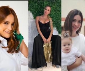 La samaria Mema Carrillo, Elizabeth Loaiza, Alejandro Eder y Taliana Vargas Carrillo.