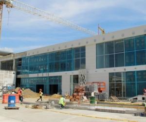Obras en el aeropuerto Simón Bolívar.