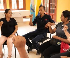 Capacitación en lenguaje de señas en Santa Marta