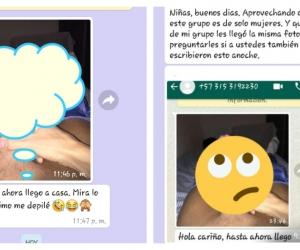 Hombre depravado envía foto de sus apartes íntimas a Whatsapp de mujeres en Santa Marta