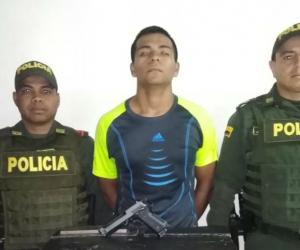 El aprehendido fue identificado como Omar José Ríos Ávila.