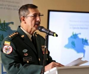 El Comandante del Ejército, general Nicacio Martínez