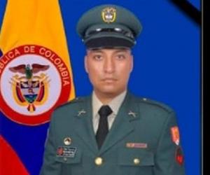 Cabo segundo William Jair Rosero Pérez.