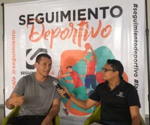 El entrenador de atletismo se 'despachó' en el programa Seguimiento Deportivo.