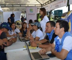 Ferias de la Equidad en otros sectores de Santa Marta.