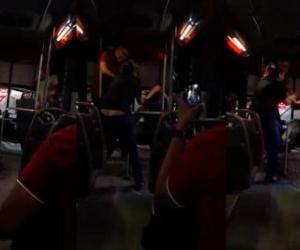 Pelea en bus de Barranquilla