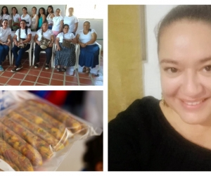 Sandra Yaruro, líder de grupo de mujeres en Palmor