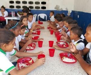 Para la actual vigencia el Programa de Alimentación Escolar en el Magdalena atiende 132.891 estudiantes.
