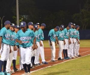 Leones jugaron en la noche del miércoles en el estadio de Béisbol de Santa Marta.