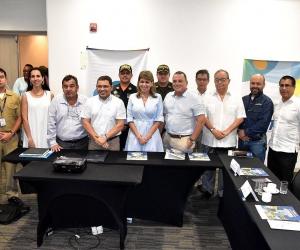 instalación del comité de candidatura de los V Juegos Suramericanos de Playa 2023.