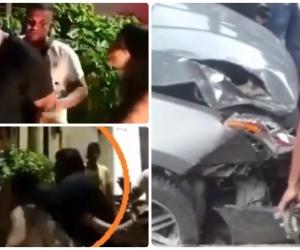 El hijo del concejal fue grabado en video cuando agredía a las mujeres.