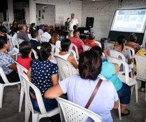 Socialización del proyecto y reasentamiento
