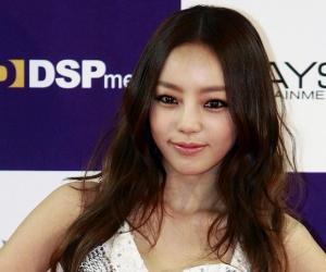 La cantante surcoreana Goo Ha-ra.