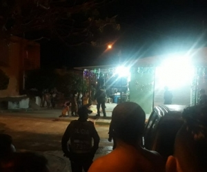 Atentado en el barrio Villa del Campo en Santa Marta