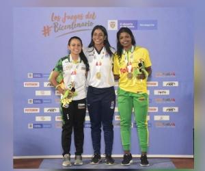 La samaria ya suma una presea dorada en las máximas justas del deporte colombiano.
