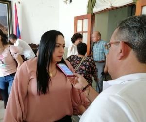 Aarón aseguró que al conocer las amenazas puso las denuncias respectivas antes las autoridades departamentales.