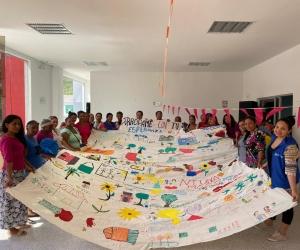 Actividad organizada por la Unidad para las Víctimas en Santa Marta
