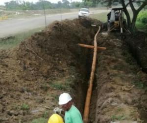 Durante la semana del 25 de noviembre, el Invías realizó el traslado de las redes de gas natural y obtuvo el permiso para poda de árboles.