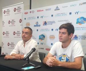 El tenista nacional que este año se consagró en par de torneos internacionales en Cancún, México, que lo dejaron hasta ahora  en el puesto 418 del ranking ATP.