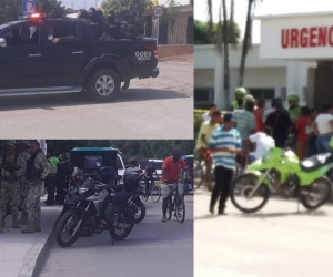 La Policía y el Ejército tuvieron que intervenir para calmar los ánimos.