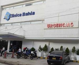 El conductor de la motocicleta falleció en la clínica Bahía.