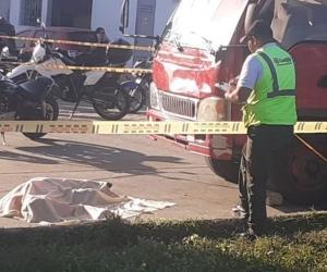 El conductor falleció en el lugar de los hechos.
