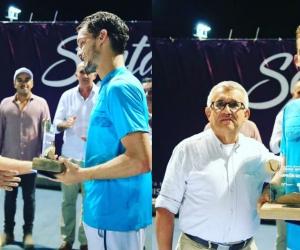 Alejandro Gómez. campeón del Santa Marta Tennis Open M15.