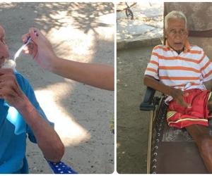 Alrededor de 30 ancianos viven en medio de las dificultades y el buen corazón de algunos donadores, en el asilo de Ciénaga.