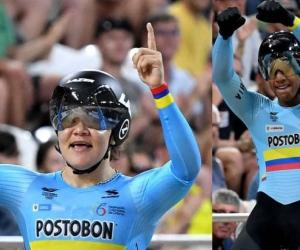 Los ciclistas dejaron en lo más alto al deporte colombiano.