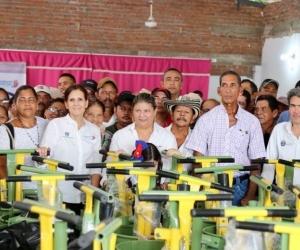 En el marco del Plan de Articulación Regional - Pares dotaron con dos tanques de enfriamiento de leche cruda, con capacidad de almacenamiento de 10 mil litros cada uno, beneficiando a 91 unidades productivas.
