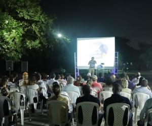 Acto de inicio de obras en el Inem Simón Bolívar