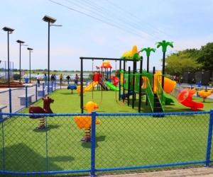 Gobernación entregó parques para la Paz y trabaja en la construcción del Polideportivo del Sur