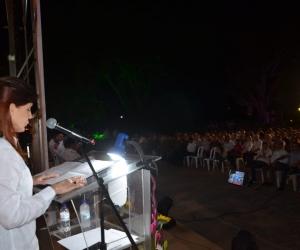 Gobernadora del Magdalena, Rosa Cotes en rendición de cuentas 2016 - 2019