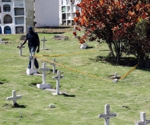 Cementerio de Dadeiba.
