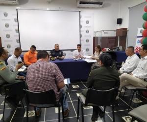 último Comité  de Seguridad Turística Departamental