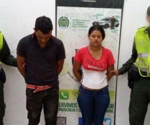 Fredy Carranza Rambal, de 30 años y Siberis Navarro Caña, de 23.
