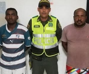 Alexander y Edinson Martínez, capturados