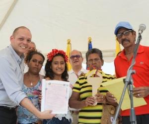 El evento se llevó a cabo en el suroriente de Ciénaga, con presencia y acompañamiento del alcalde municipal Edgardo Pérez Díaz.