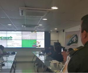 En el comité participaron diferentes instituciones y autoridades del departamento y el Distrito.