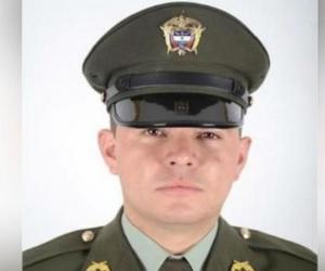 Jonatan Sierra Suaza, patrullero asesinado.